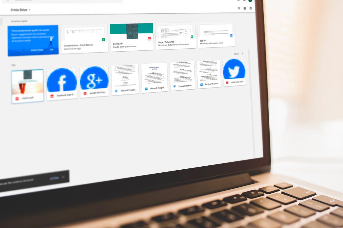 Google Drive API: creare un
