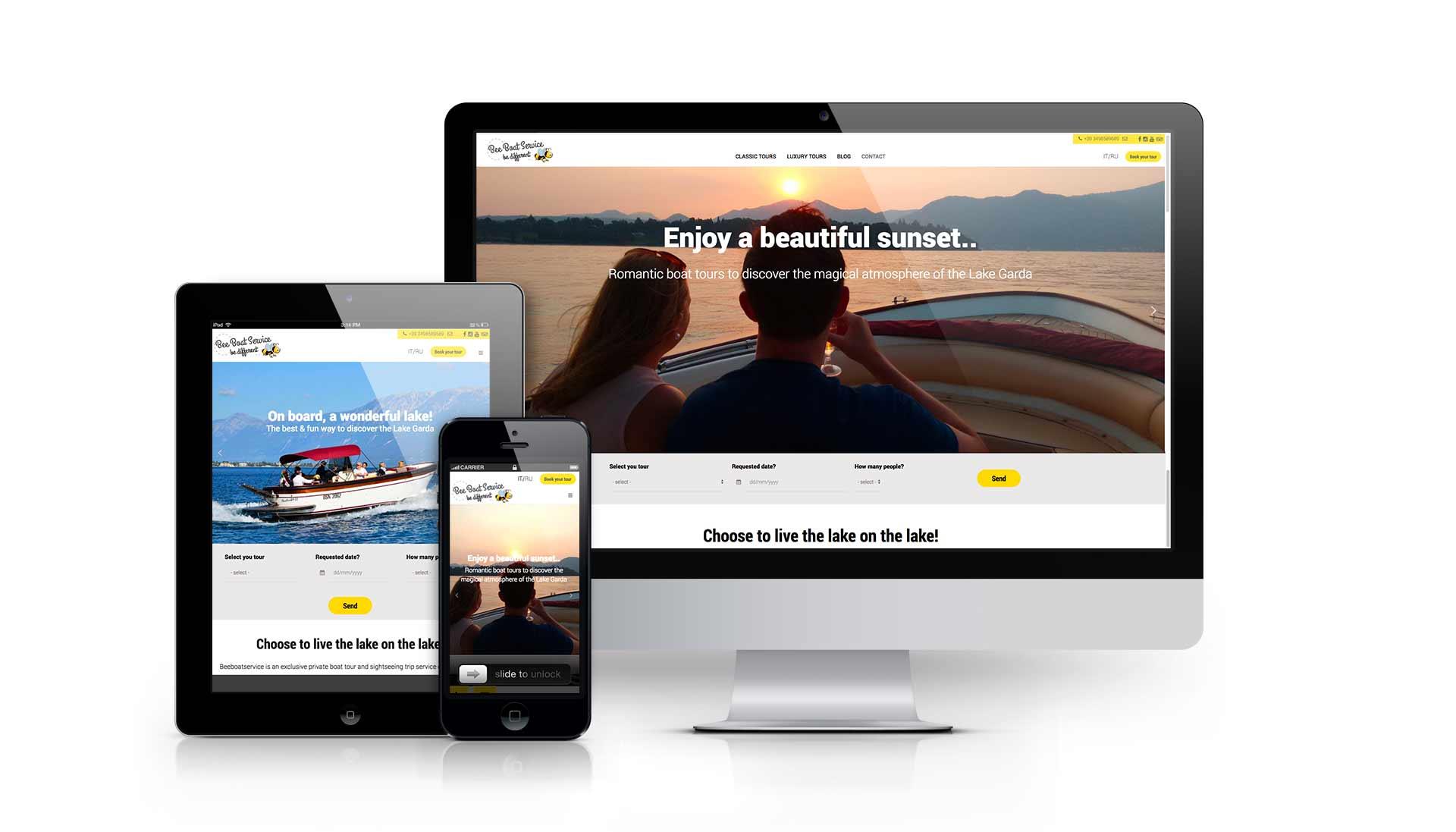 Beeboatservice - Sito web istituzionale