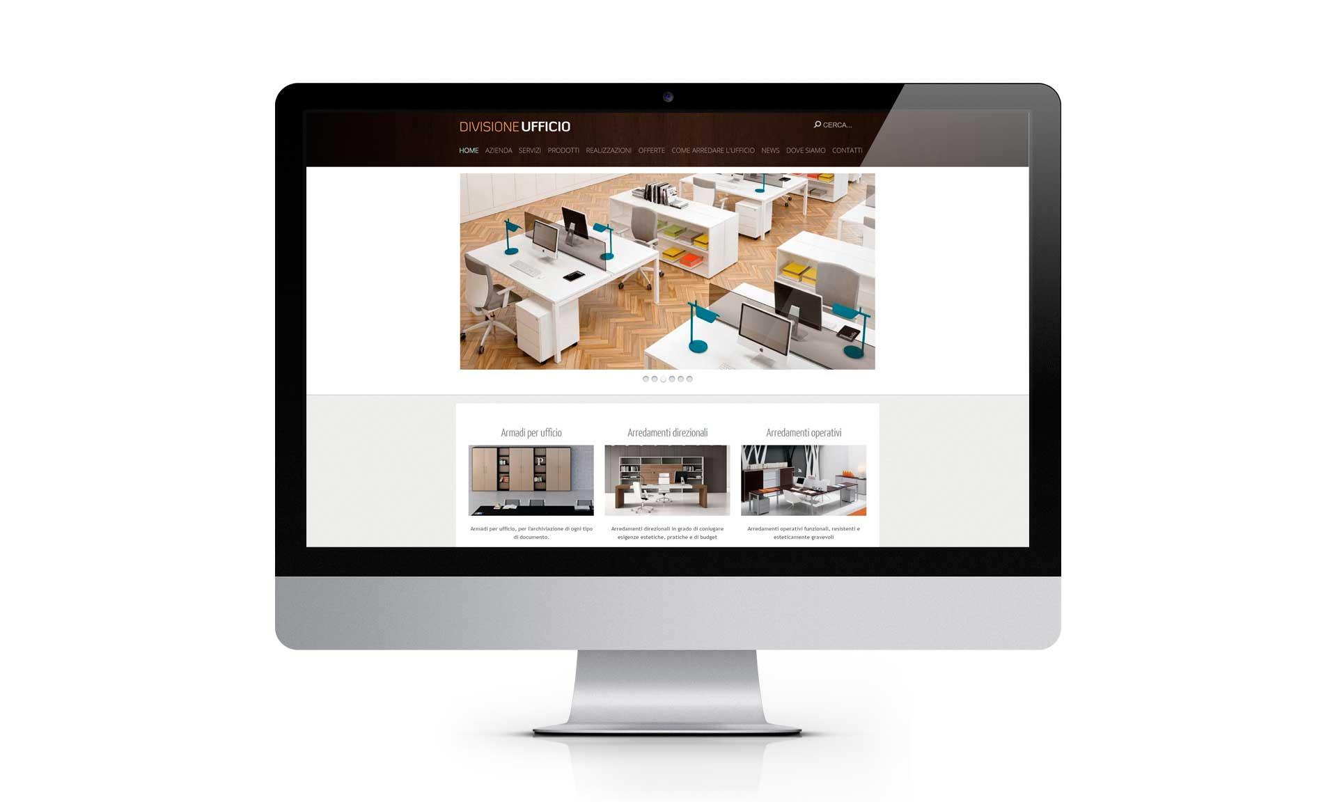 Creazione  del sito internet di Divisione ufficio SaS