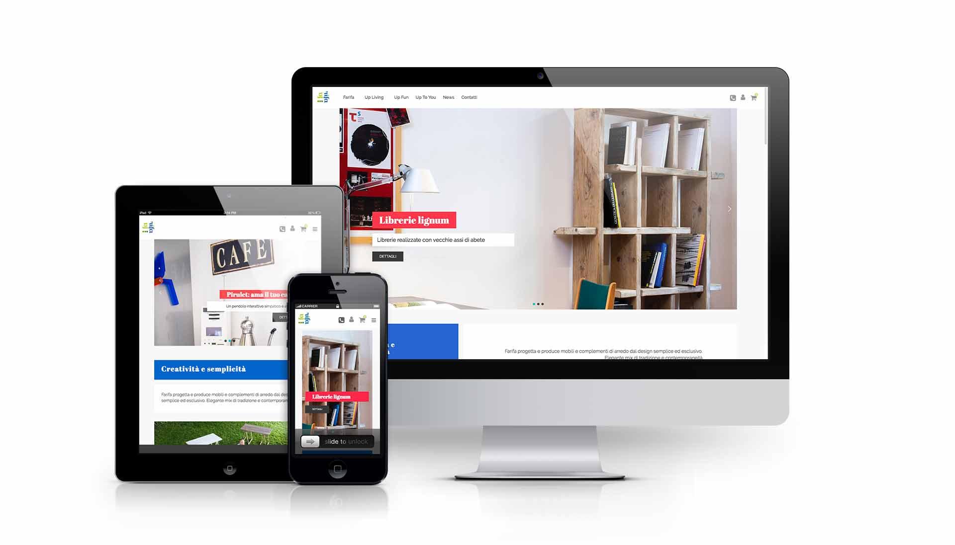 Sviluppo E-commerce Milano per oggetti design