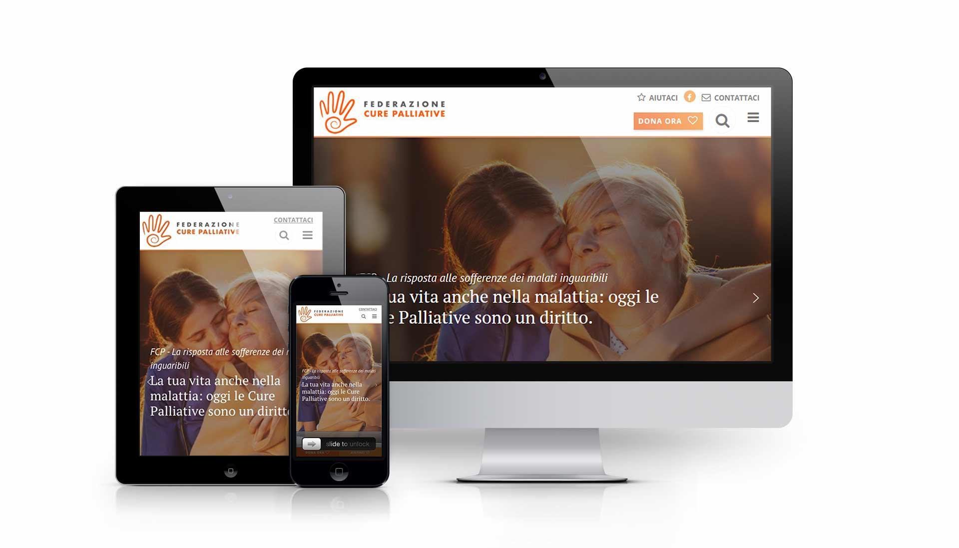 Sviluppo portale per non profit - Fedcp.org
