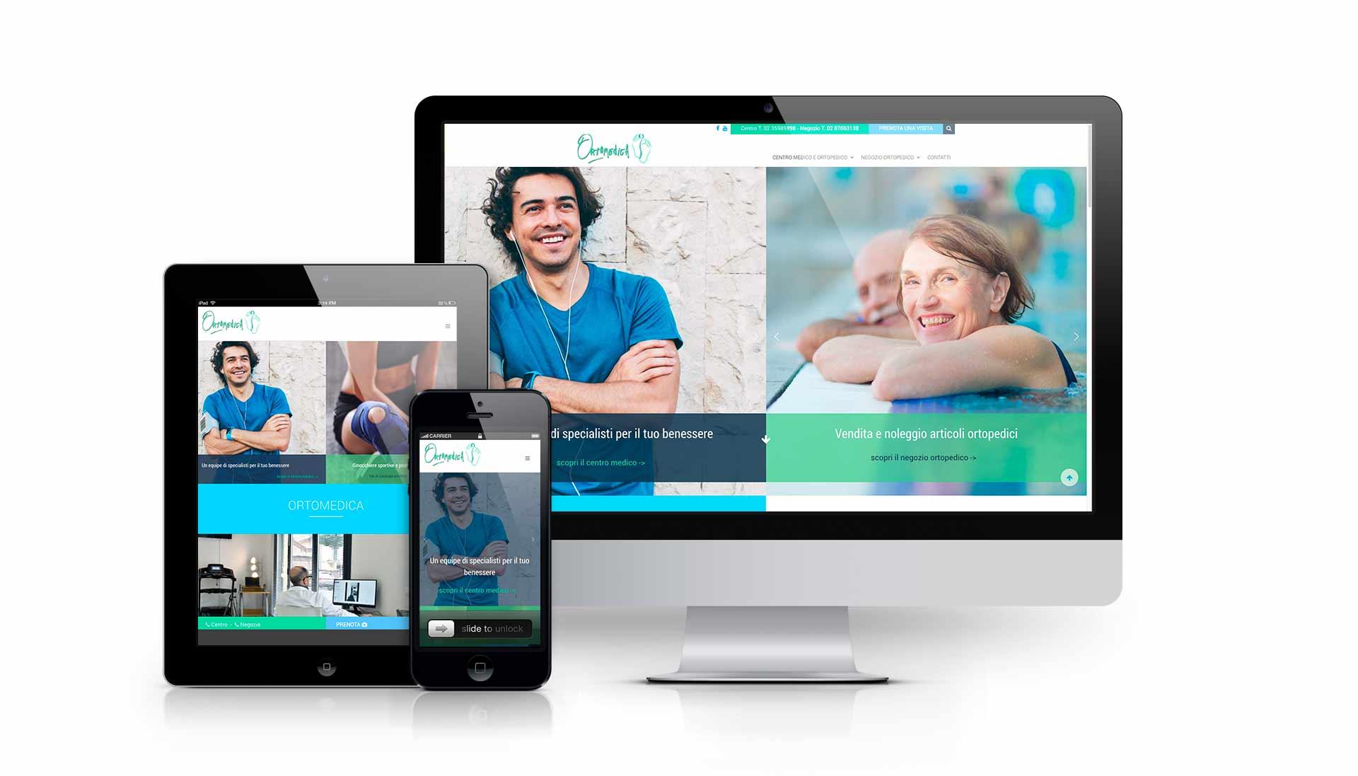 sviluppo sito web ortomedica